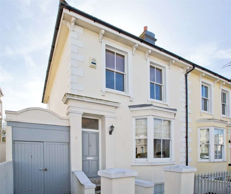 4 Bedrooms Semi Detached House for sale in Hova Villas, Hove, East Sussex, BN3