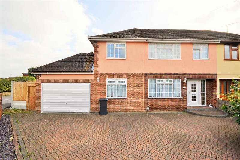 5 Bedrooms Semi Detached House for sale in Longfield Road, Wickford