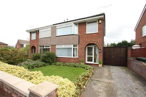 3 Bedrooms Semi Detached House for sale in Summertrees Road, Ellesmere Port