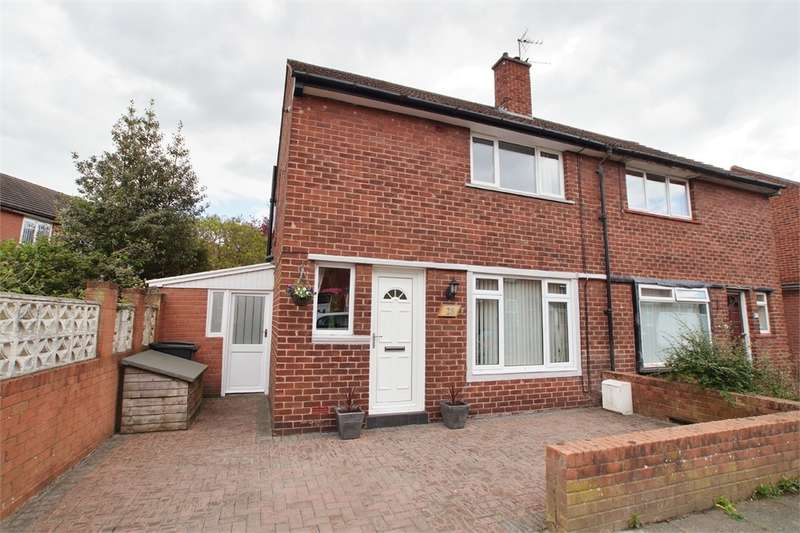 2 Bedrooms Semi Detached House for sale in CA2 4HA Esther Street, off Blackwell Road, Carlisle, Cumbria
