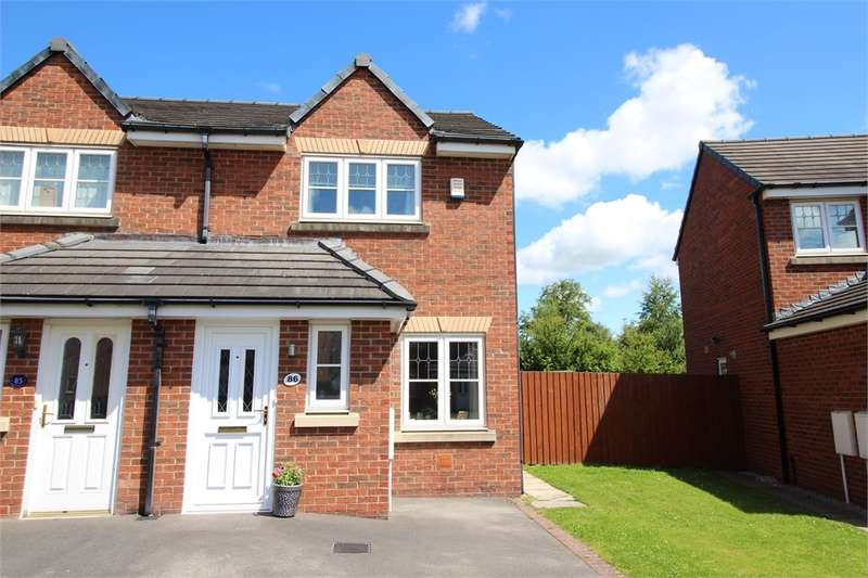 2 Bedrooms Semi Detached House for sale in CA6 4AQ Edenside, Cargo, Carlisle, Cumbria