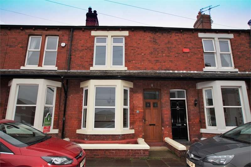 3 Bedrooms Terraced House for sale in CA1 2BU Thirlwell Avenue, off Warwick Road, Carlisle, Cumbria