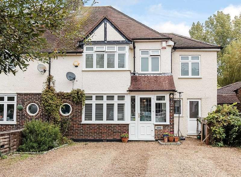 4 Bedrooms Semi Detached House for sale in Effingham Junction