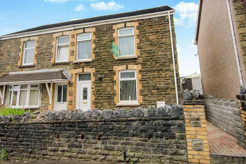 3 Bedrooms Semi Detached House for sale in Bosworth Road, Neath