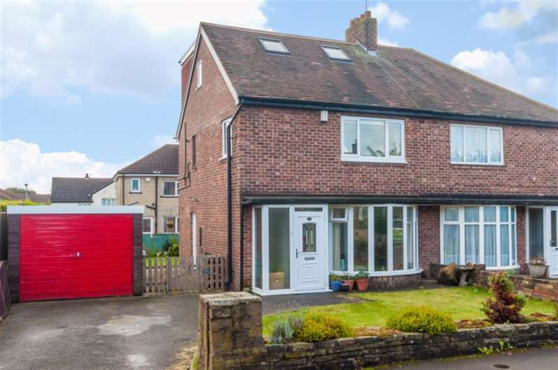 4 Bedrooms Semi Detached House for sale in Moorfield Gardens, Pudsey, LS28