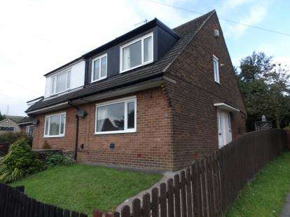 3 Bedrooms Semi Detached House for sale in Knowsley Crescent, Shawforth, Rochdale, Lancashire, OL12