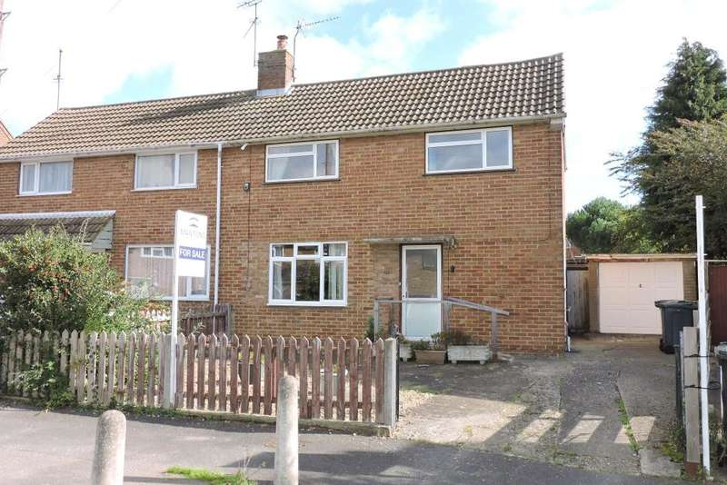 3 Bedrooms Semi Detached House for sale in Ravensthorpe, Luton, Bedfordshire, LU2 8AU