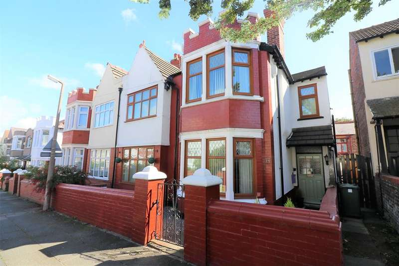 4 Bedrooms House for sale in Dalmorton Road, Wallasey, CH45 1LF