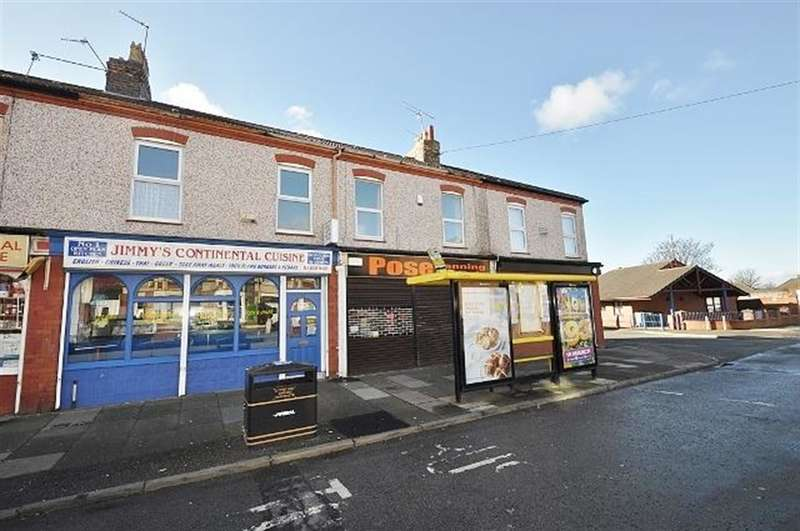 1 Bedroom Flat for sale in 83a St Pauls Road, Wallasey