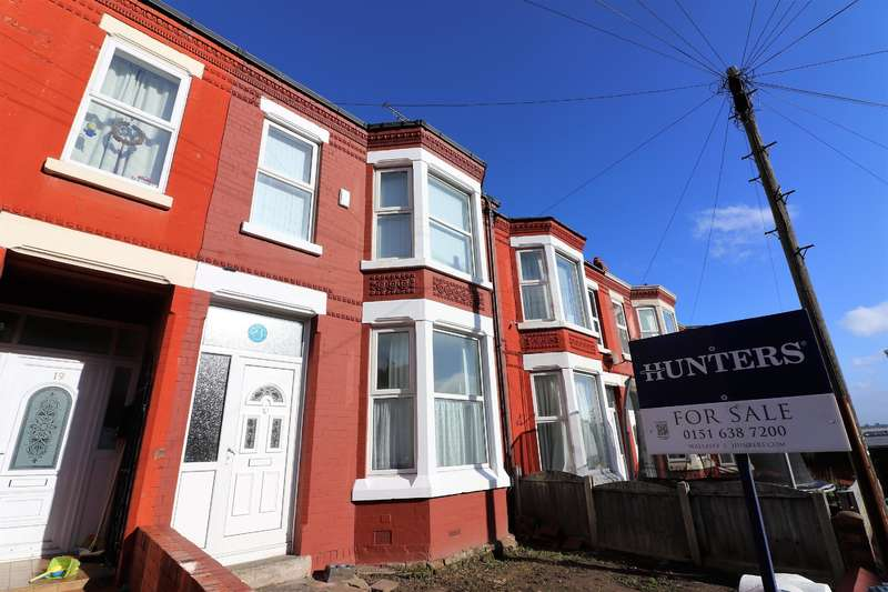 3 Bedrooms Terraced House for sale in St. Vincent Road, Wallasey, CH44 8BJ
