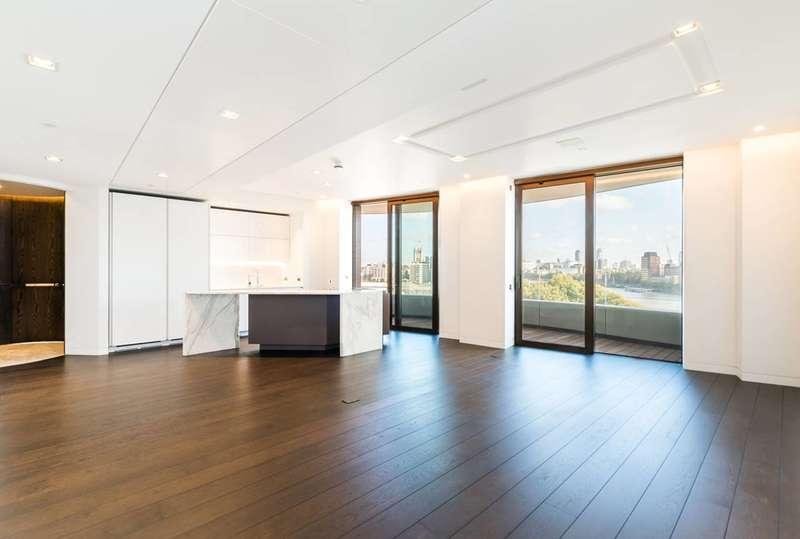 2 Bedrooms Flat for sale in Riverwalk West, Westminster, SW1P
