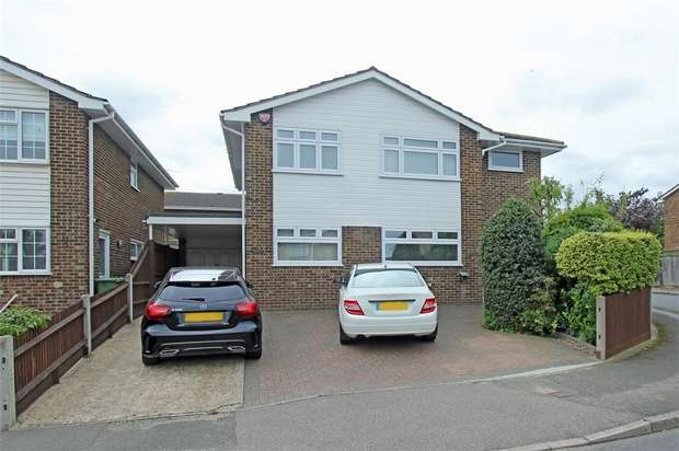 4 Bedrooms Detached House for sale in Farm Crescent, Sittingbourne, Kent