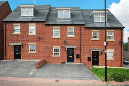 4 Bedrooms Terraced House for sale in Watkin Close, Sheffield, South Yorkshire