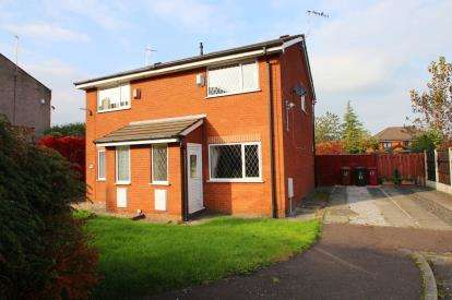 2 Bedrooms Semi Detached House for sale in Alderney Close, Blackburn, Lancashire, BB2
