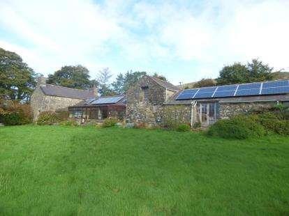 Detached House for sale in Llanaelhaearn, Caernarfon, Gwynedd, LL54