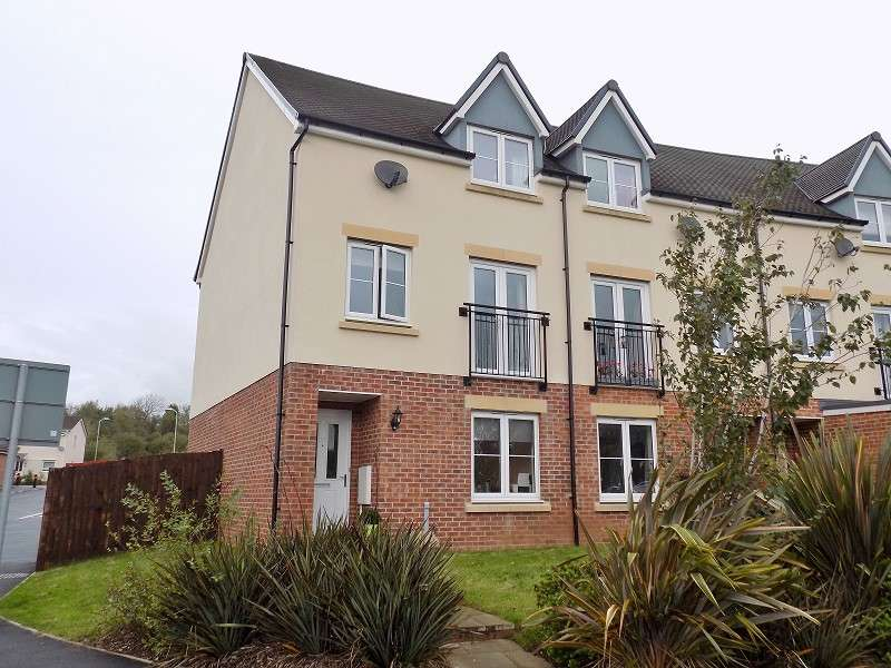 4 Bedrooms End Of Terrace House for sale in Wood Green, Cefn Glas, Bridgend. CF31 4DY
