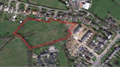 Land Commercial for sale in Rhewl Fawr Road, Penyffordd, Holywell, Flintshire, CH8