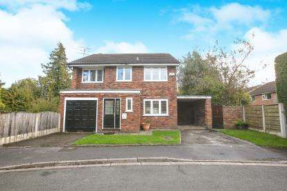 4 Bedrooms Detached House for sale in Moorfield Drive, Wilmslow, Cheshire