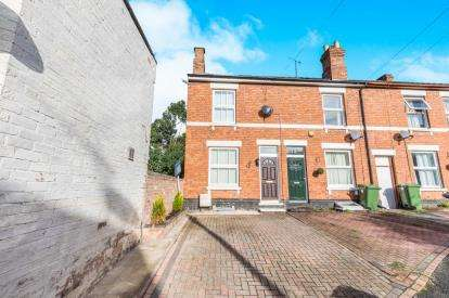 3 Bedrooms End Of Terrace House for sale in Laslett Street, East Worcester, Worcester, Worcestershire