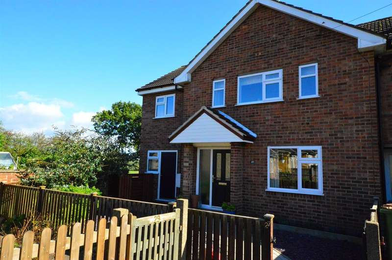 3 Bedrooms Semi Detached House for sale in Holt Crescent, Thurlaston, Leicester, LE9 7TH