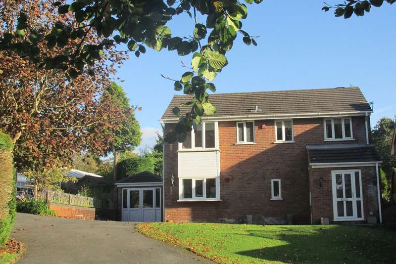 4 Bedrooms Detached House for sale in Clare Court, Loughor, Swansea