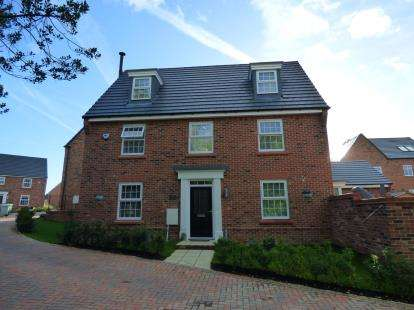 5 Bedrooms Detached House for sale in Alpine Echoes Close, Elworth, Sandbach, Cheshire