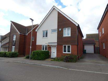 4 Bedrooms Detached House for sale in Corfe Meadows, Broughton, Milton Keynes, Buckinghamshire