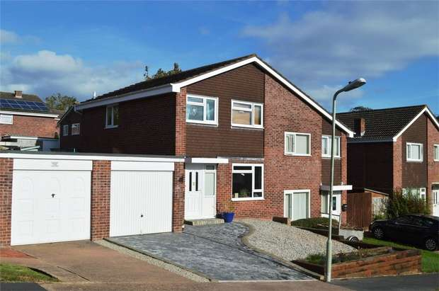 3 Bedrooms Semi Detached House for sale in 24 Barrowdale Close, EXMOUTH, Devon