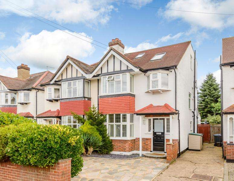 5 Bedrooms Semi Detached House for sale in Cranleigh Gardens, Kingston upon Thames KT2