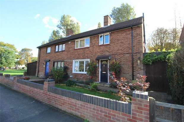 3 Bedrooms Semi Detached House for sale in Ruggles-Brise Road, Ashford, Middlesex