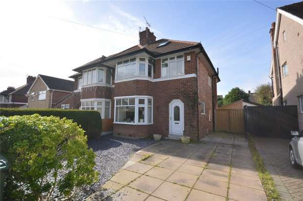 4 Bedrooms Semi Detached House for sale in Teehey Lane, Bebington, Merseyside