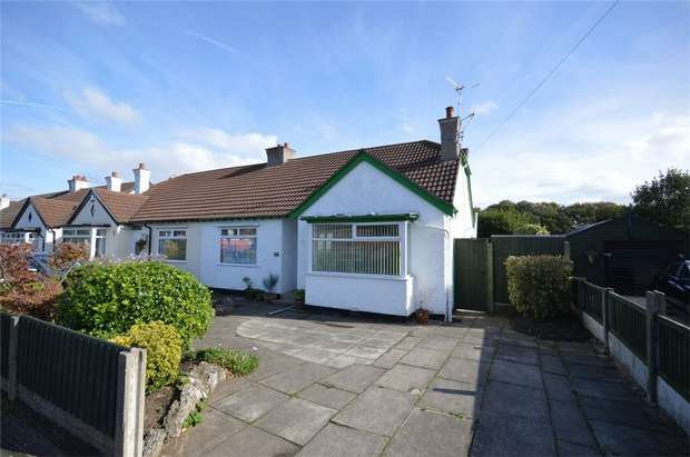 2 Bedrooms Semi Detached Bungalow for sale in Cross Lane, Bebington, Merseyside