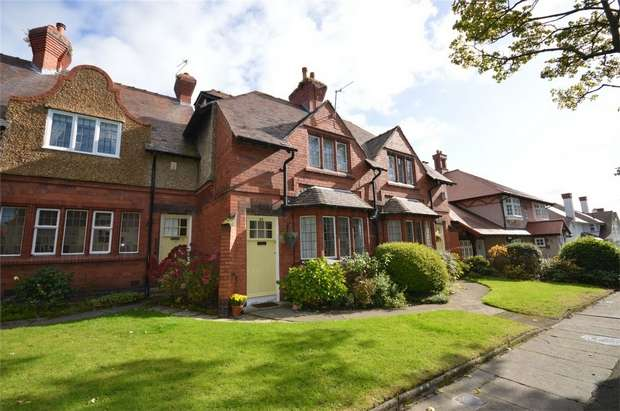 2 Bedrooms Terraced House for sale in Central Road, Port Sunlight, Merseyside