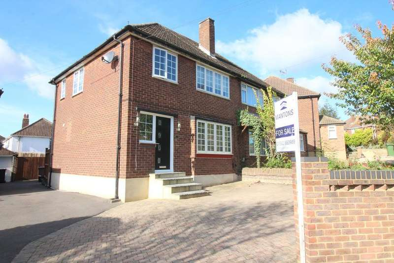 3 Bedrooms Semi Detached House for sale in Cheviot Road, Luton, Bedfordshire, LU3 3DQ