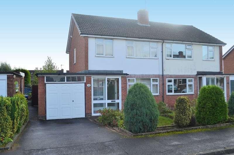 3 Bedrooms Semi Detached House for sale in Oakhurst, Lichfield