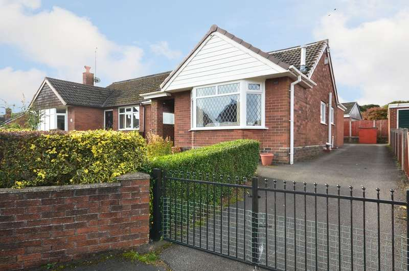 2 Bedrooms Semi Detached Bungalow for sale in Heath Grove, Meir Heath, ST3 7JT