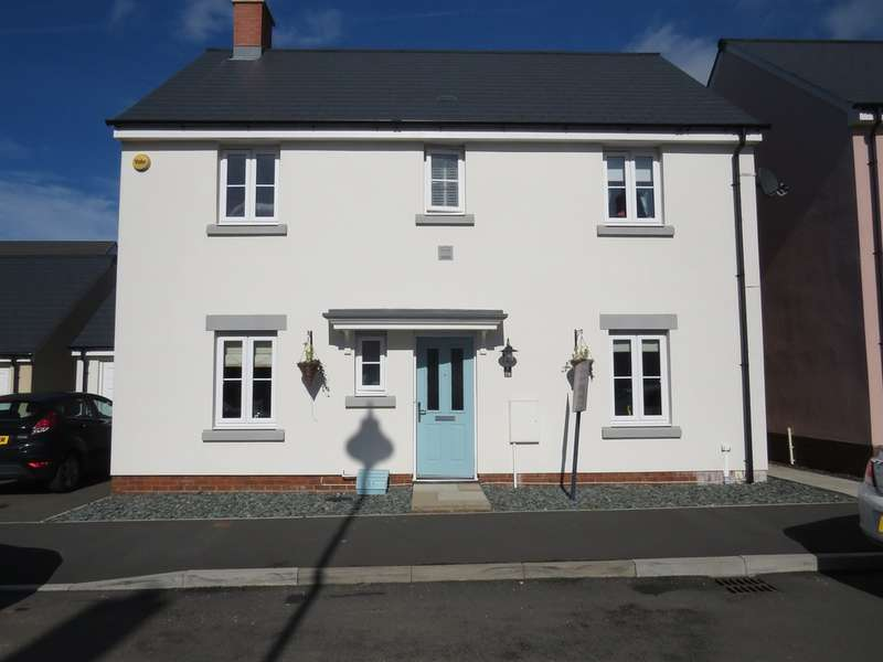 4 Bedrooms Detached House for sale in Ffordd Y Draen, Coity, Bridgend
