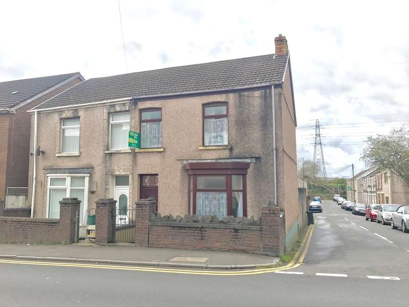 3 Bedrooms Semi Detached House for sale in Pant Yr Heol, Briton Ferry, Neath
