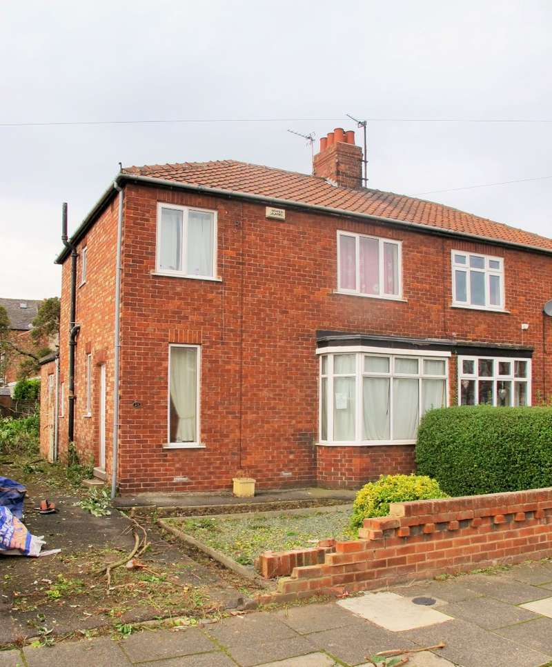 3 Bedrooms Semi Detached House for sale in Willows Road, Middlesbrough, Cleveland, TS5 6RG