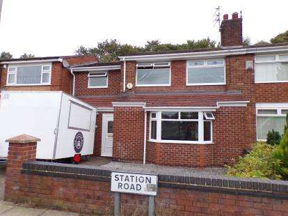 3 Bedrooms Semi Detached House for sale in Station Road, Gateacre, Liverpool, Merseyside, L25