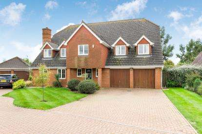 5 Bedrooms Detached House for sale in Prestwick Road, Great Denham, Bedford, Bedfordshire