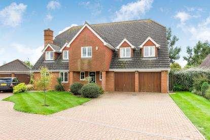 5 Bedrooms Detached House for sale in Prestwick Road, Great Denham, Bedford, Bedfordshire