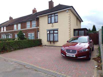 3 Bedrooms End Of Terrace House for sale in Audley Road, Birmingham, West Midlands