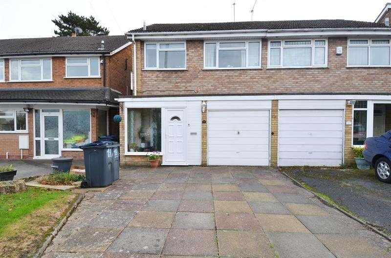 3 Bedrooms Semi Detached House for sale in Leyman Close, Kings Heath, Birmingham