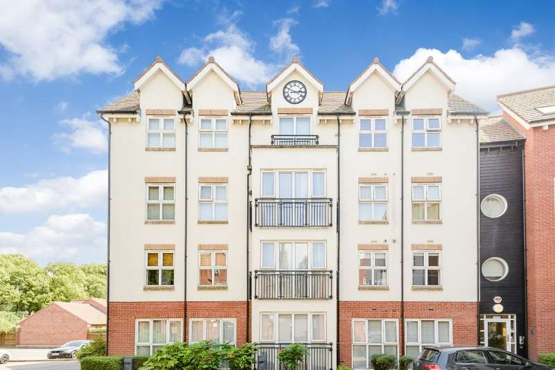 2 Bedrooms Flat for sale in Hermitage Court, Honeywell Close, Leicester, Leicestershire LE2