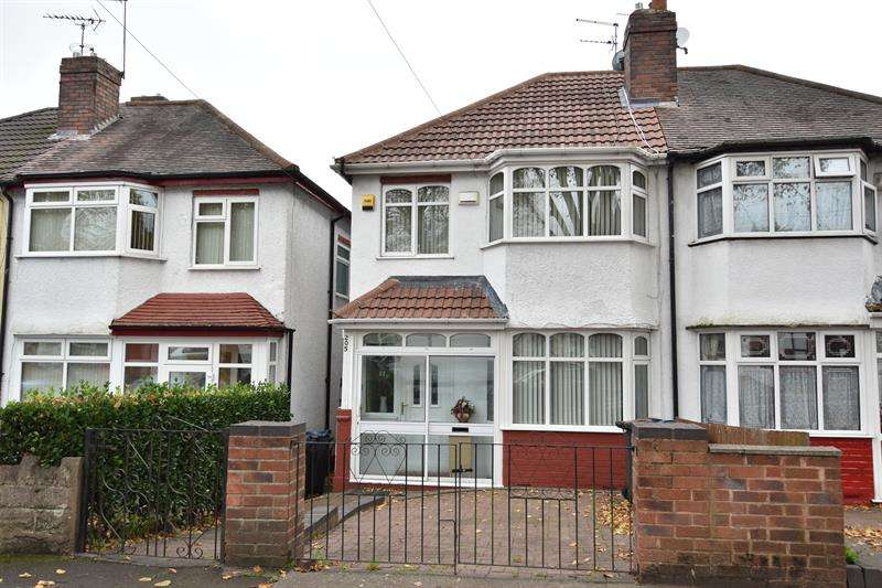 3 Bedrooms Semi Detached House for sale in Cateswell Road, Sparkhill, Birmingham