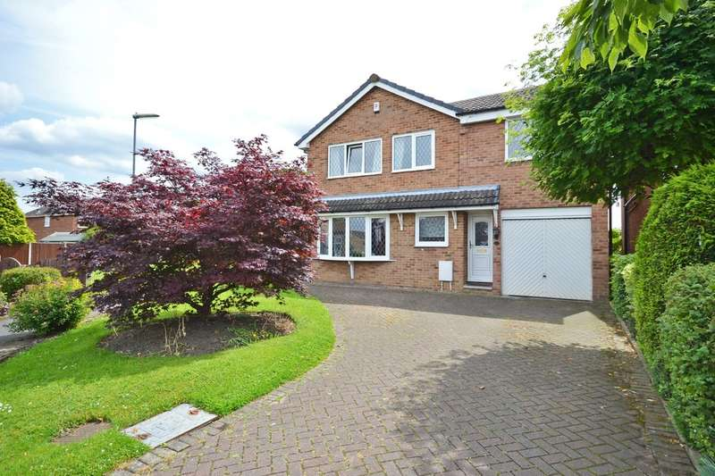 5 Bedrooms Detached House for sale in Swift Way, Sandal