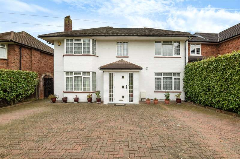 5 Bedrooms Detached House for sale in Rowlands Avenue, Pinner, Middlesex, HA5