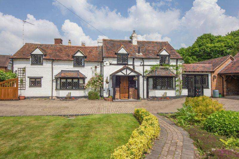 4 Bedrooms Cottage House for sale in Ullenhall, Warwickshire