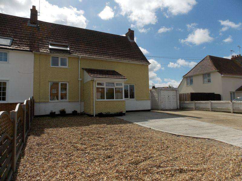 3 Bedrooms Semi Detached House for sale in Recreation Road, Stowmarket